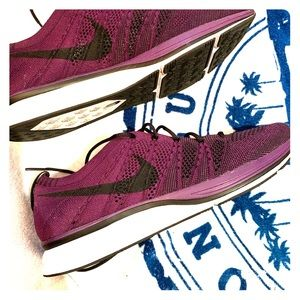 Nike purple fly knit trainers BASICALLY NEW